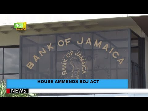 House Amends BOJ Act