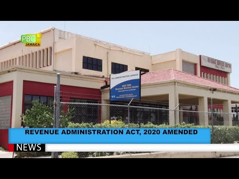Revenue Administration Act, 2020 Amended