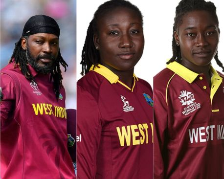 Gayle, Taylor & Dottin Nominated for ICC Decade Awards