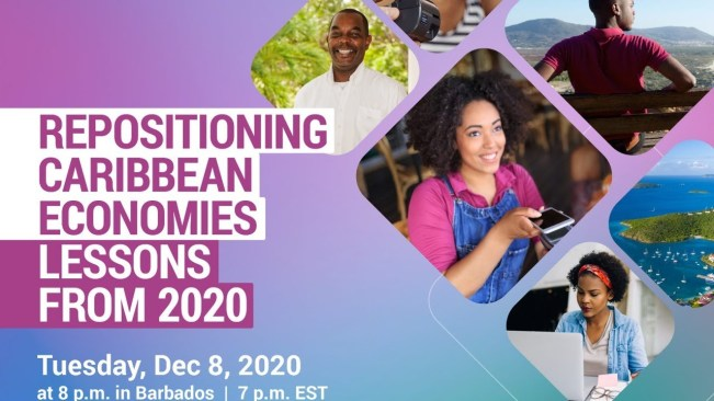 "LIVE NOW:Caribbean Economic Forum – ""Repositioning the Caribbean: Lessons from 2020"" – December 8, 2020"