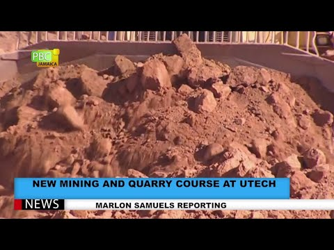 New Mining And Quarry Course At UTECH