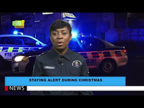 Staying Alert During Christmas