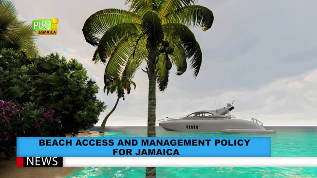 Beach Access And Management Policy For Jamaica