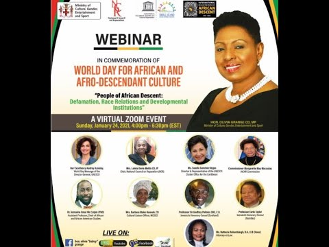 The World Day for African and Afrodecendant Culture