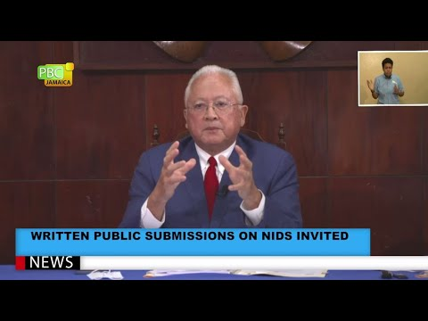 Written Public Submissions On NIDS Invited
