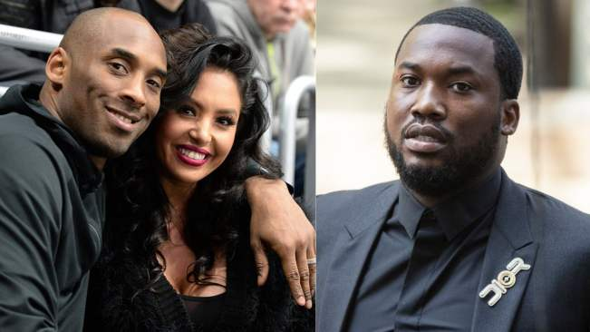 Disrespectful! Vanessa Bryant calls out Meek Mill on Kobe Bryant lyric