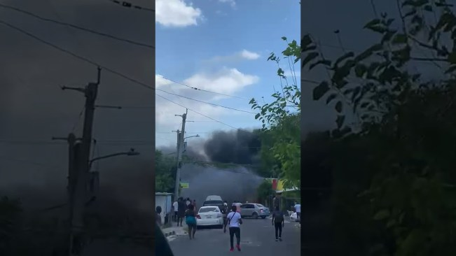 Fire at Flankers , Montego Bay