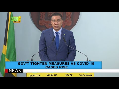 Gov't Tighten Measures As COVID-19 Cases Rise