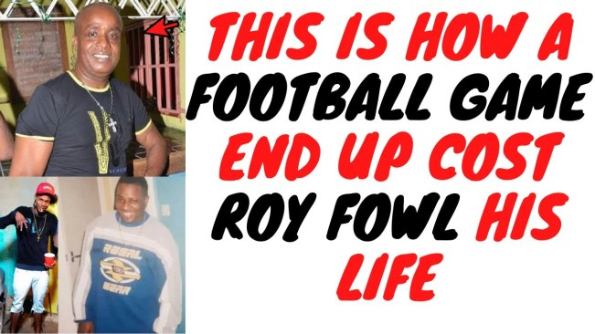 Roy Fowl And Bitty End Up Losing Their Lives After One Hot Head Moment On A Ball Field