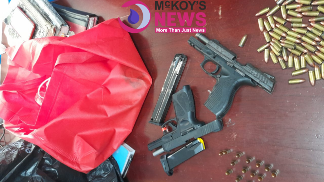 Another Firearm and Ammunition Seizure in Cambridge, St James