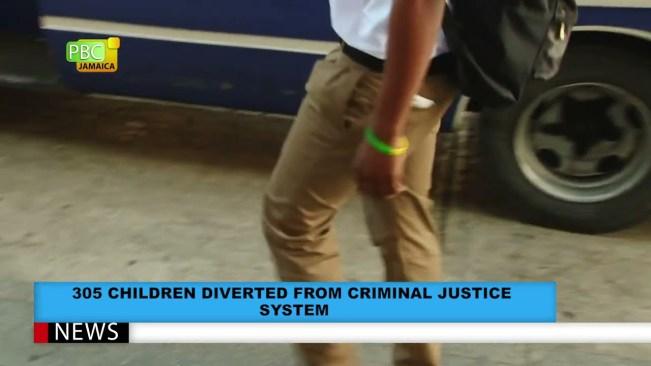 305 CHILDREN DIVERTED FROM CRIMINAL JUSTICE  SYSTEM