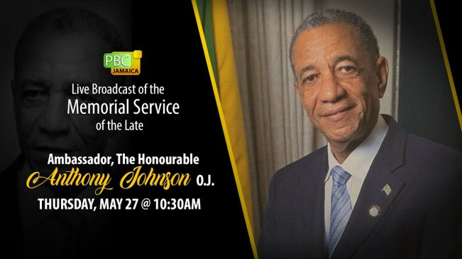 Memorial Service for the late Ambassador The Honourable Anthony Johnson, O.J.