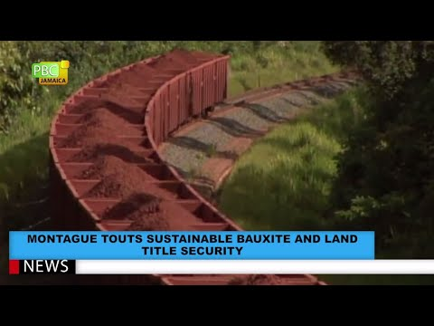 Montague Touts Sustainable Bauxite And Land Title Security