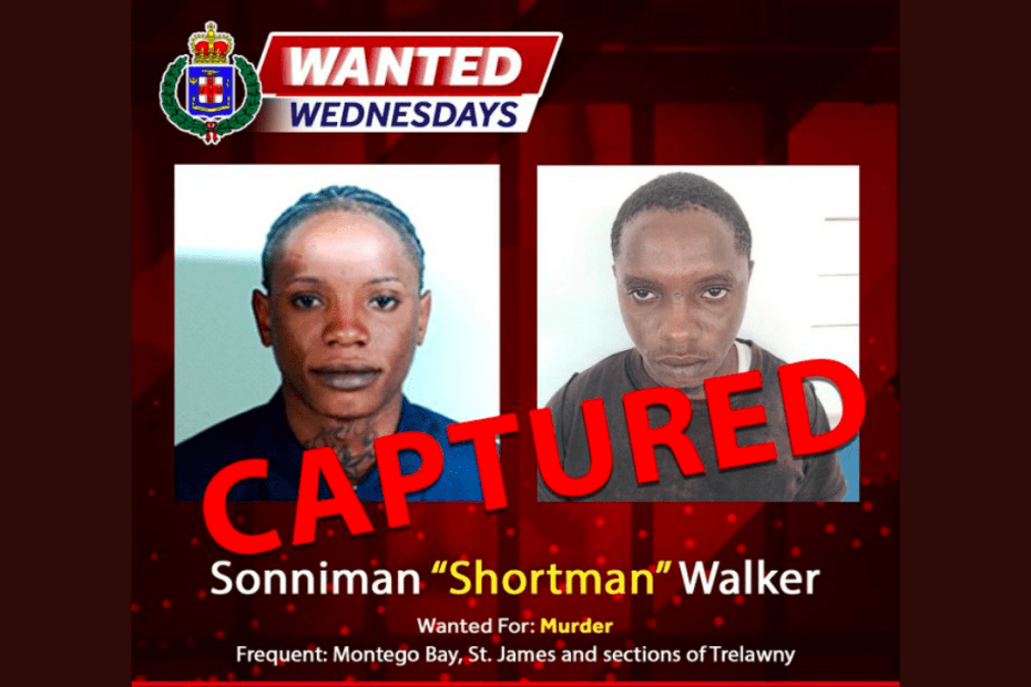 St James Wanted Man Held in Rocky Point, Clarendon