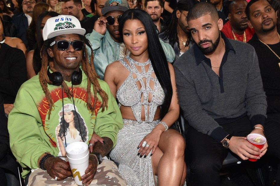 "Nicki Minaj, Lil Wayne, Drake share new Collab ""Seeing Green"""