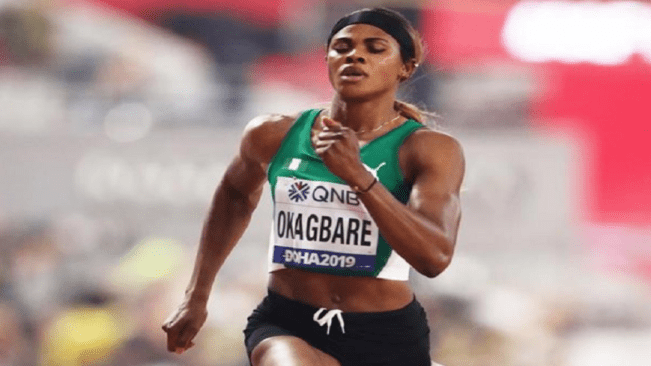 Blessing Okagbare runs 10.63 wind-assisted 100m in Lagos