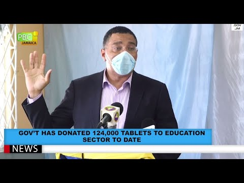 Gov't Has Donated 124,000 Tablets To Education Sector To Date