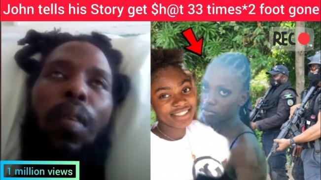 Live on camera John brown who get 33 gunshots Speaks out/2 gone missing*viral video