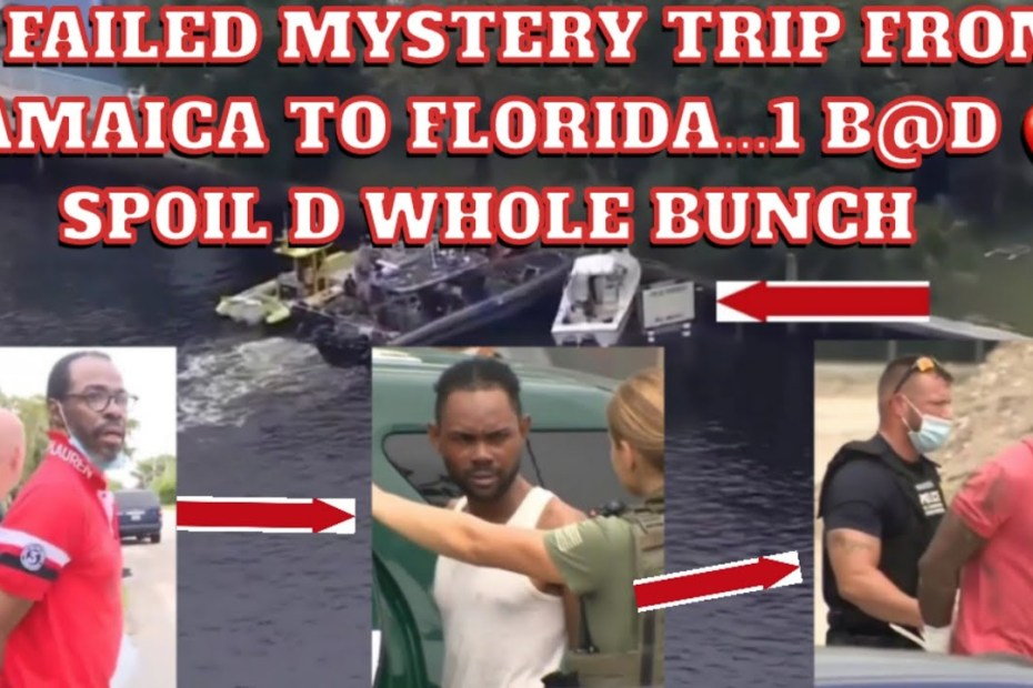 Real Hidden Truth Behind 14 Jamaica Captured in Florida