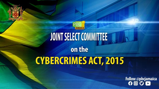 Joint Select Committee on The Cybercrimes Act, 2015 – July 7, 2021