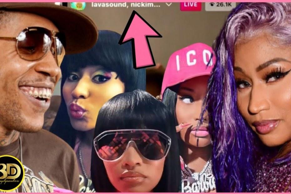 "Nicki Minaj ""Talks"" Vybz Kartel On Lavasound LIVE"