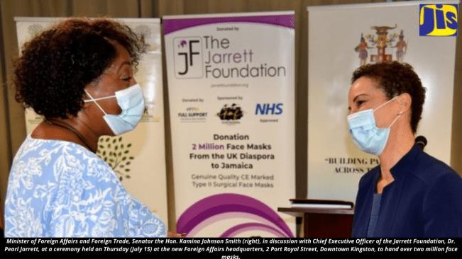 Jarrett Foundation Donates Two Million Face Masks