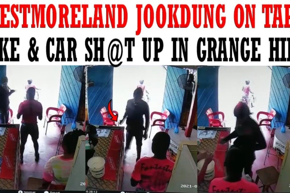 Video: Westmoreland jookdung caught on tape + Bike & Car shat up