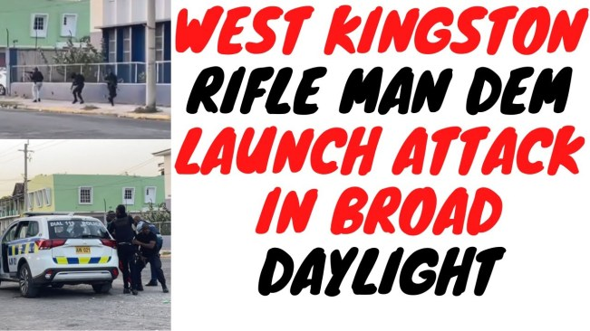 West Kingston Turn inna Action Movie As Police Scramble To Deal with Gunmen