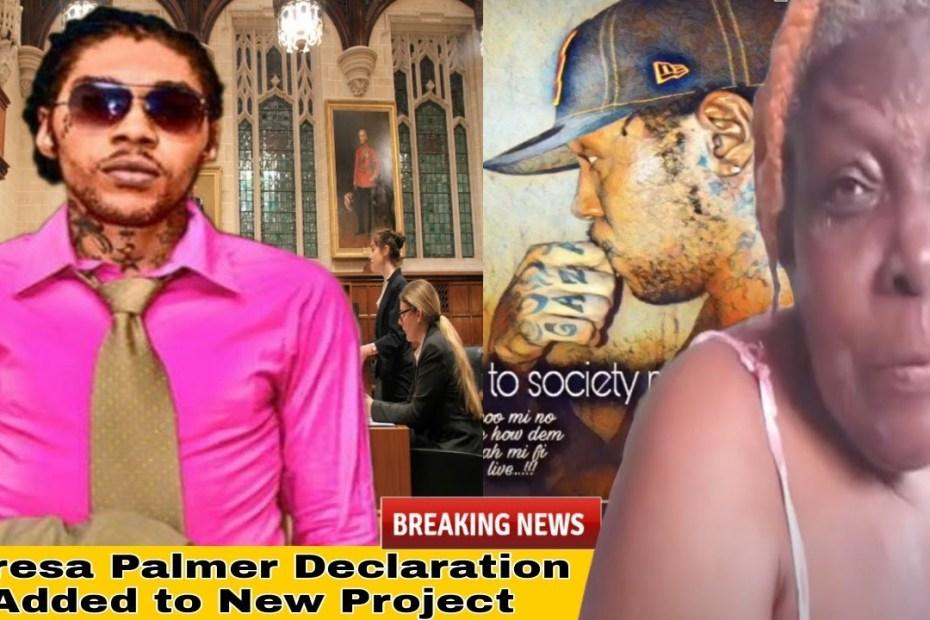 Vybz Kartel Declared Innocent By Mrs Plamer Album Speech