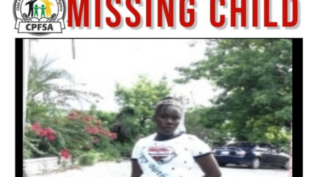 12-year-old Rickaylah Jackson missing from,Montego-bay St.james