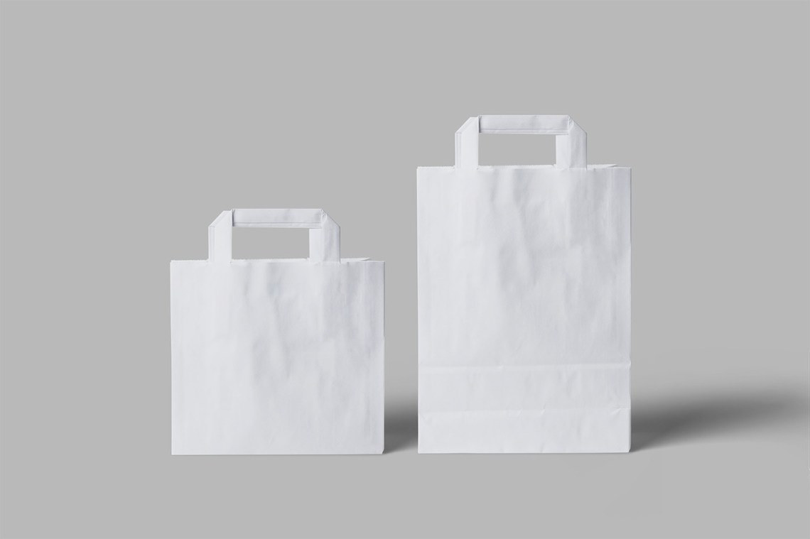 Download Free Paper Bag Mockup - Free Mockup Download