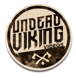 Logo concept for Undead Viking Videos on YouTube
