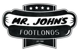 Mr Johns Footlongs logo