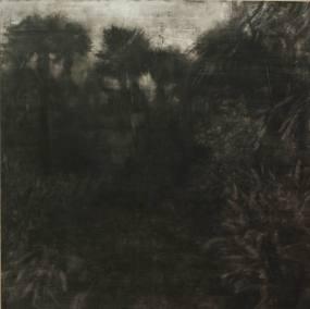 Les mots de Sophie - tempera sur toile 180 x 180 cm - collection particulière