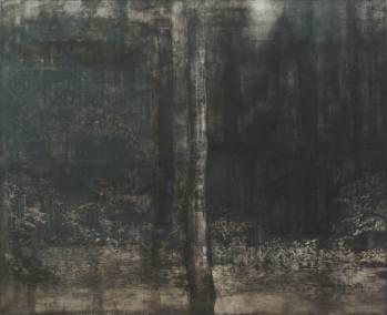 Dernière partition - tempera sur toile 150 x 130 cm