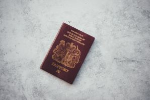 passportwithbarebackground