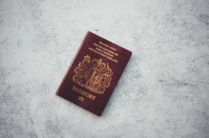 passportwithbarebackground