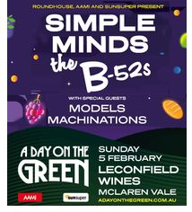 Day on the Green – Simple Minds and the B-52s