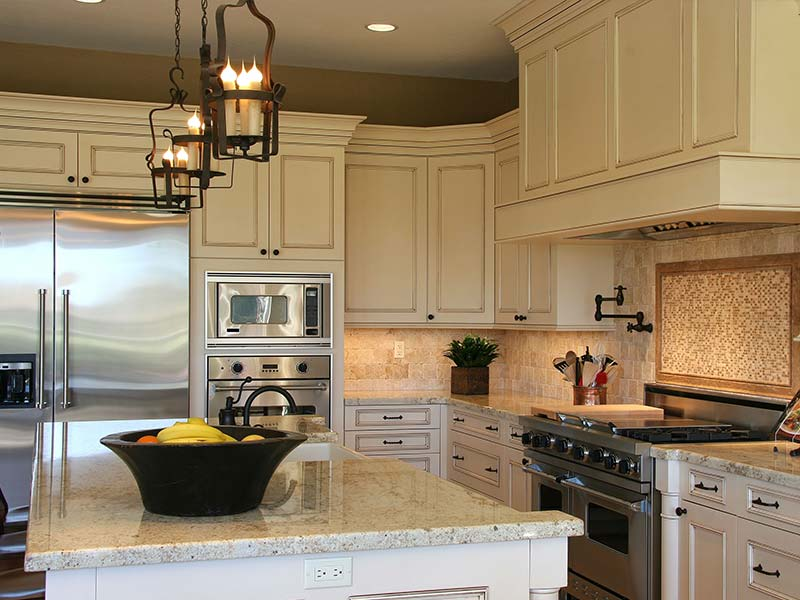 Kitchen cabinet refacing traditional