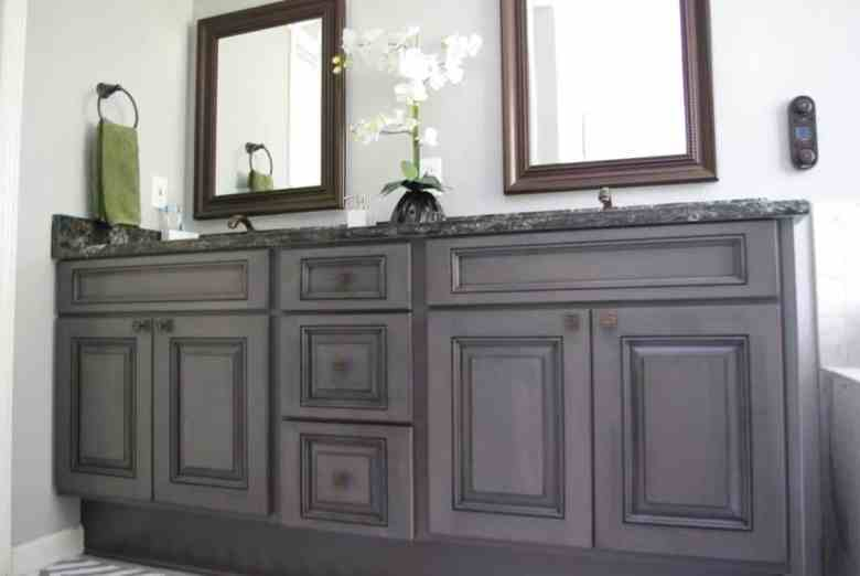 After Bathroom Vanity refacing