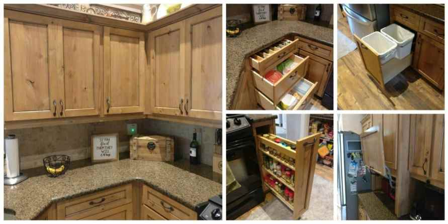 Custom Cabinet Storage Cabinet Refacing