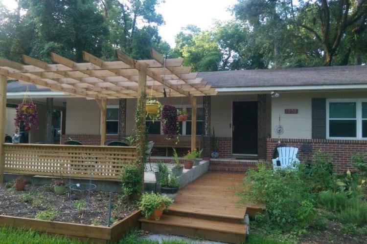 Home Remodel deck construction