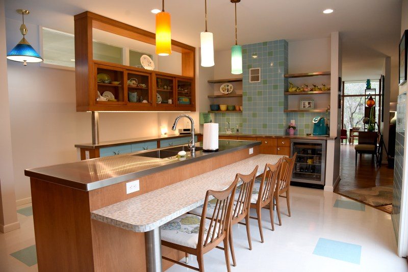 kitchen for the whole family to retreat to