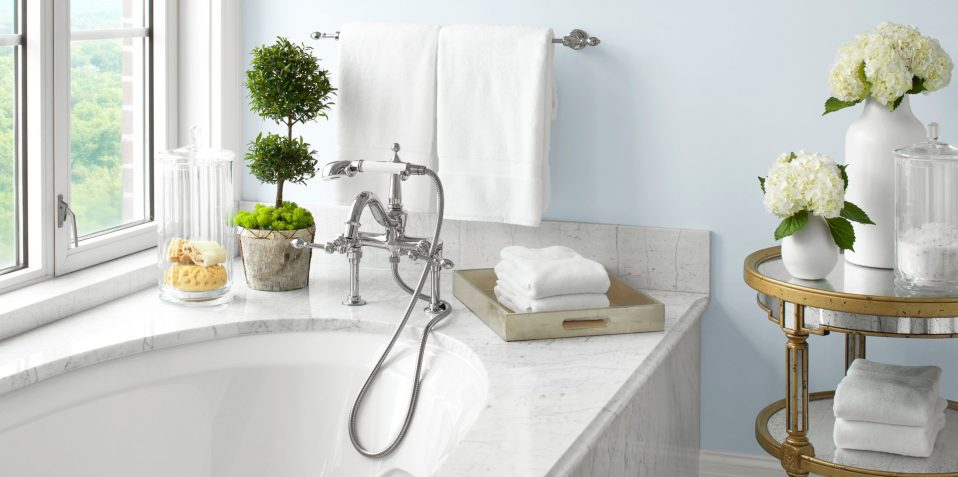 luxury spa bath accessories