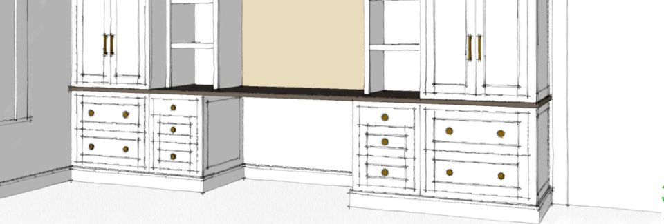 home office base cabinet