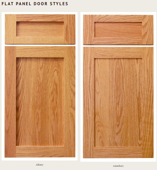 flat panel door styles