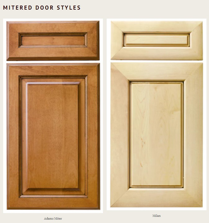 Design remotely with mitered door styles