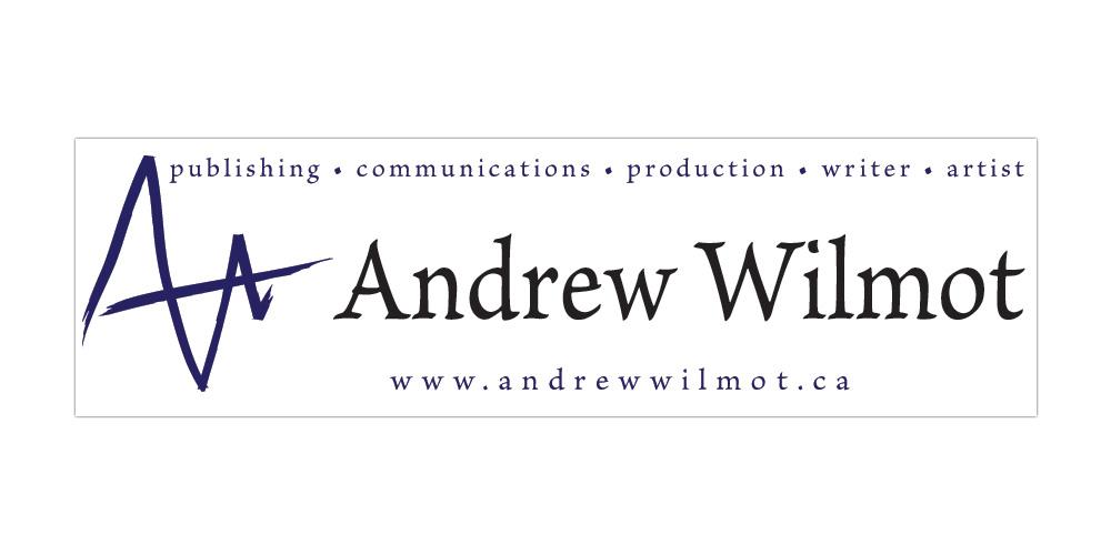 Brand identity for Andrew Wilmot