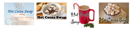 Hot Cocoa Swap - Blog Buttons