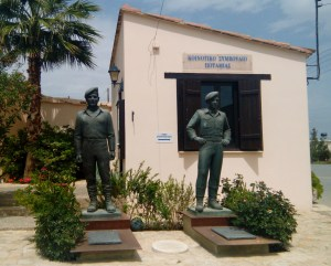 Monument for the Greek Cypriot missing in Potamia
